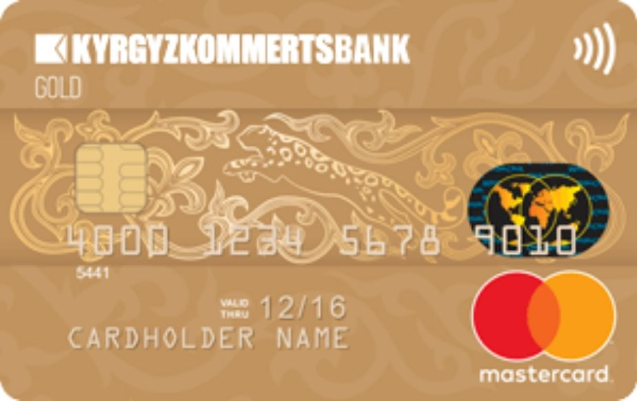 Карта Mastercard Gold Contactless