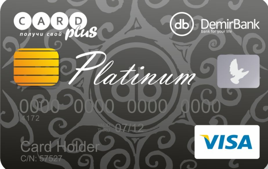 Карта Visa Platinum Debit
