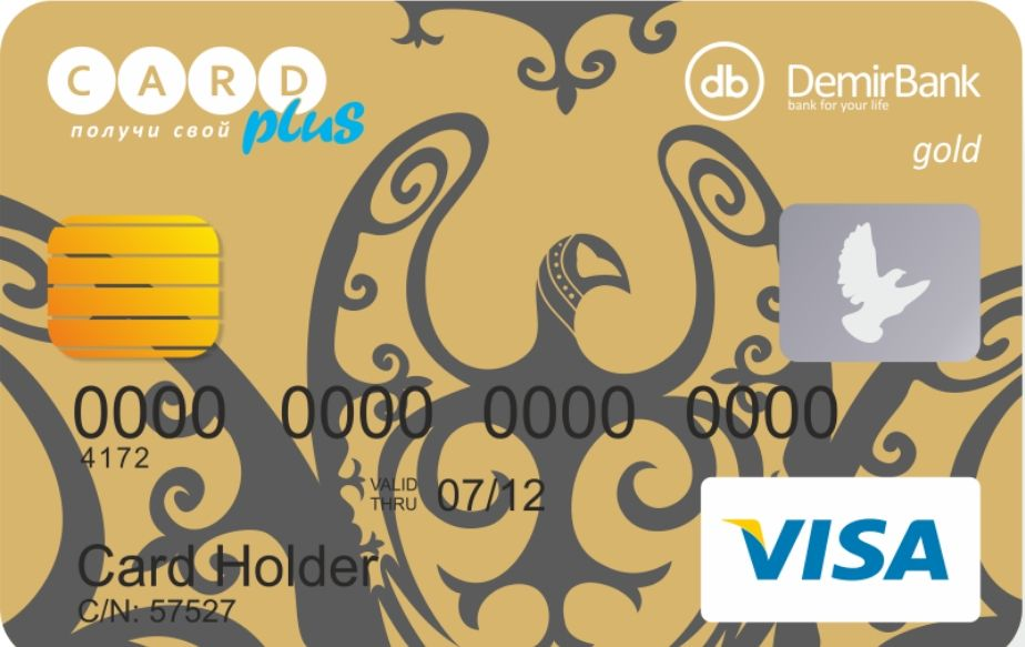 Карта Visa Gold Debit