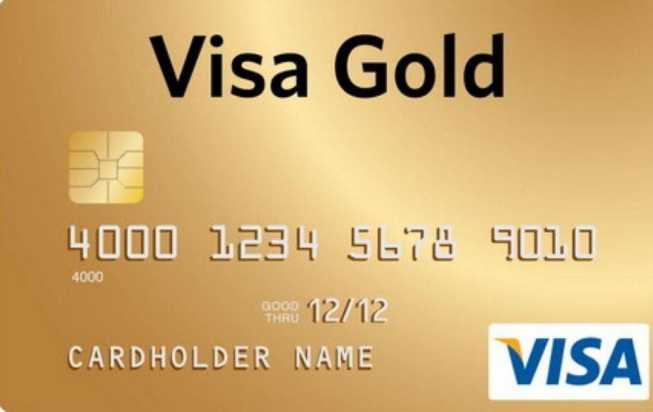 Карта Visa Gold PCL